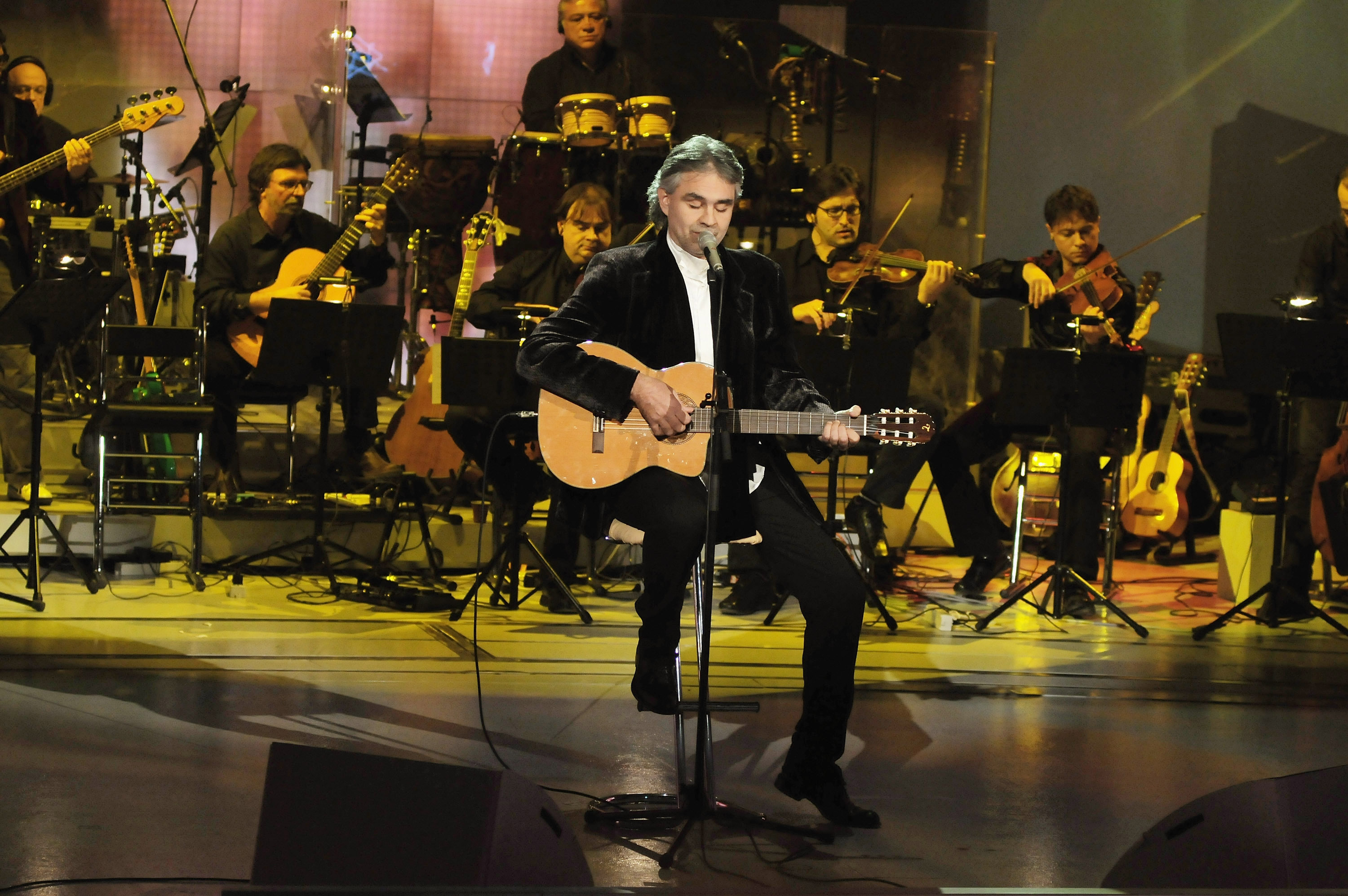 YouTube: la performance de Pâques d'Andrea Bocelli bat un